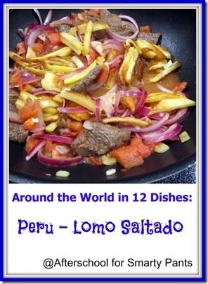Cooking With Children: A Peruvian Recipe Lomo Saltado #cookingwithkids