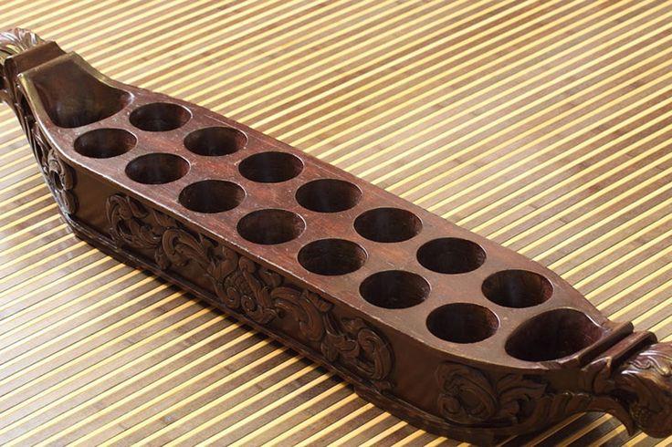 Image Result For Congkak Tradisional Mancala Game Wood