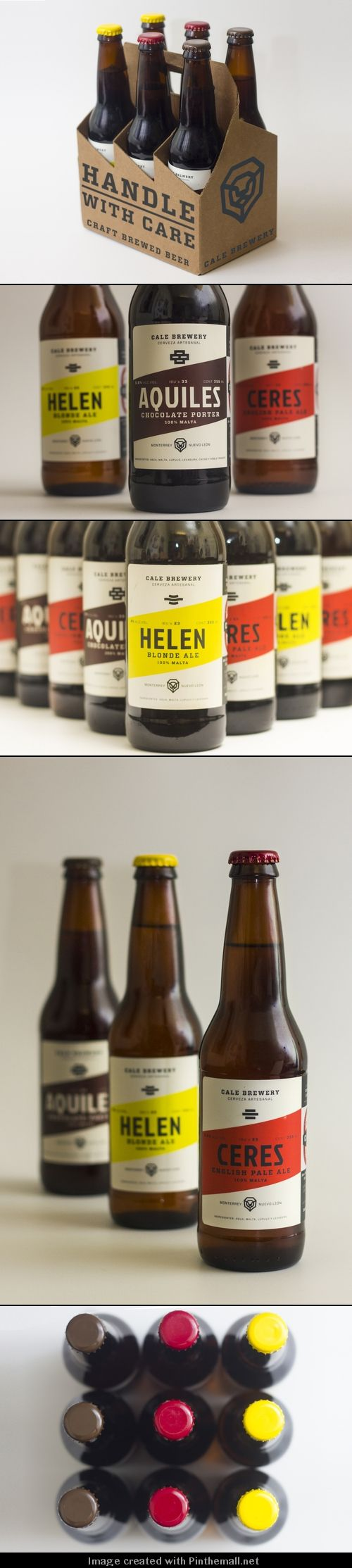 Label / Cale Brewery | Designed by Suizopop, Cale Brewery is a craft beer company from Monterrey, México.
