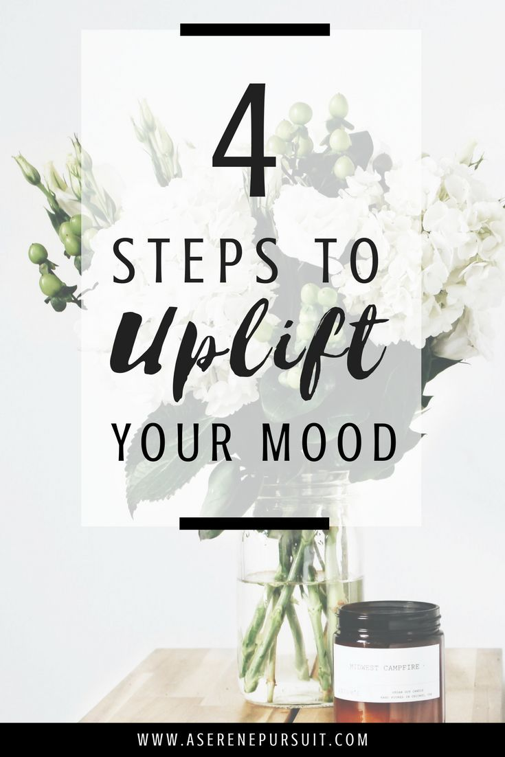 How to Improve Your Mood When You Feel Down   We all go through low moods – but it's about arming yourself with the tools you need once you're ready to conquer it. Here are 4 tips to help you feel better and find your way back to happiness.  mental health  uplift your mood   improve mood articles   improve mood life   personal growth   positive mindset   self-improvement   soul care  