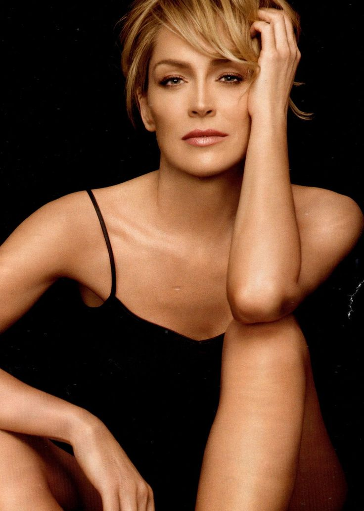Sharon Stone, the ferocity
