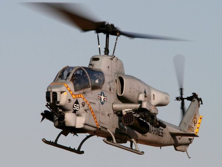 Bell AH 1 Cobra Attack Helicopter