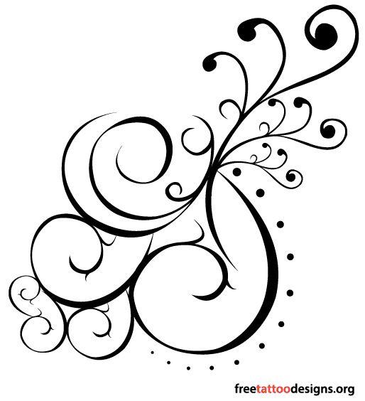 The 25+ best Swirly tattoo ideas on Pinterest   Shoulder ...