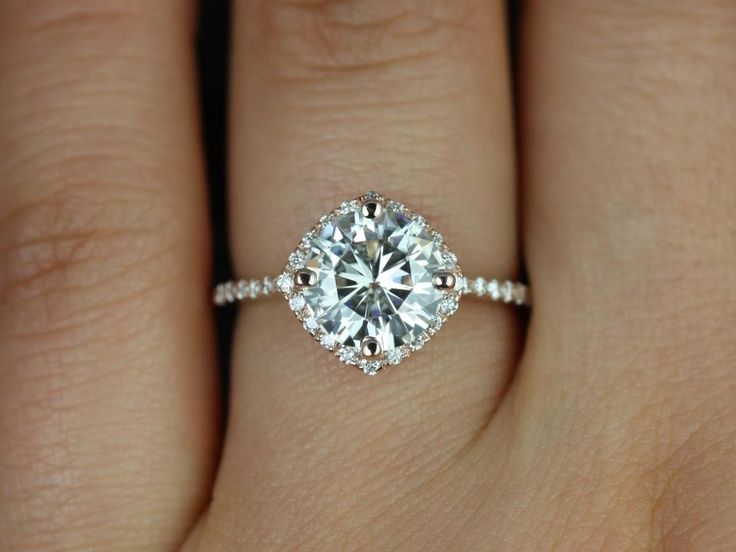 25 best ideas about cushion halo engagement rings on