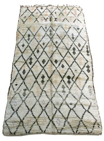 "MARR-KETT ~ Products ~ ""Ishraq"" Circa 1950's Vintage Beni Ouarain Rug ~ Shopify"