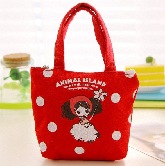 Cute little girl coin bag baby shower souvenirs kids birthday party gift favors
