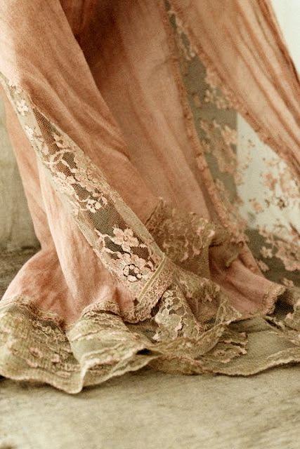 Apricot lace
