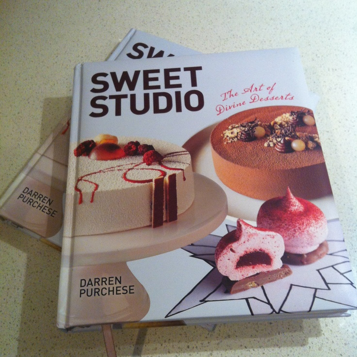 Look what arrived in the post today! http://www.bookdepository.co.uk/Sweet-Studio-Darren-Purchese/9781742669823