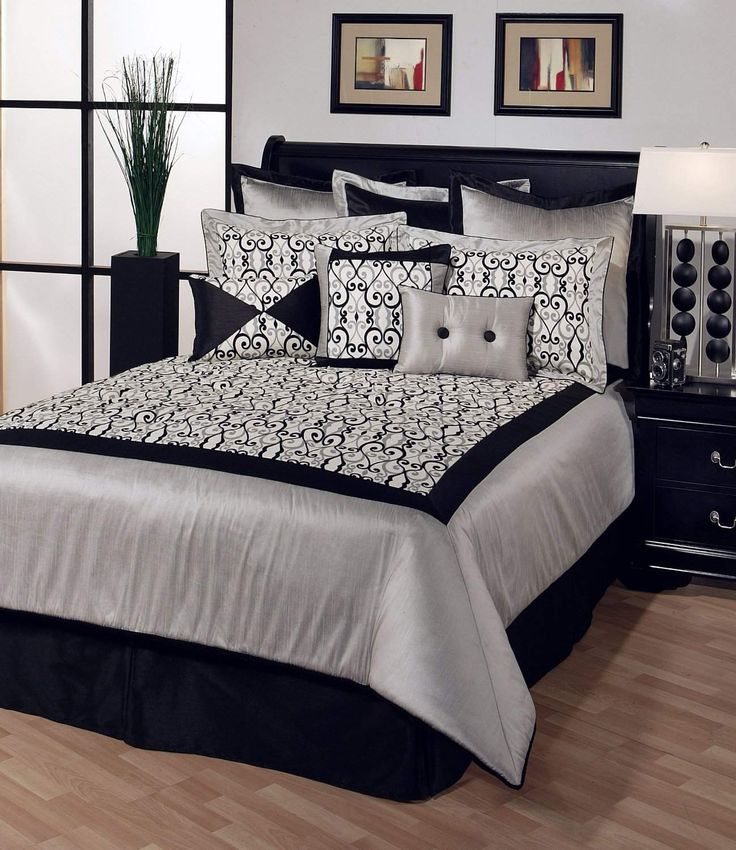 Best Black And White Bedroom Images On Pinterest Bedroom