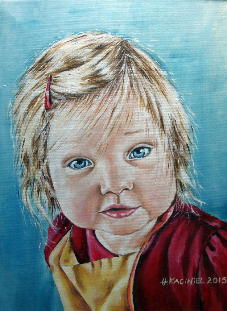 """""""MIa"""" oil on canvas- If you would like to commission a portrait contact me by email hannakacinielart@gmail.com , PM or visit my website www.hannakaciniel.com"""