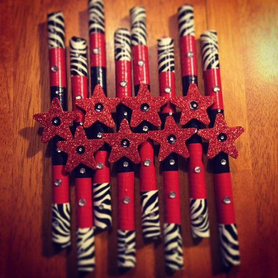 Customized Cheer Spirit Stick by KarinnesKreations on Etsy