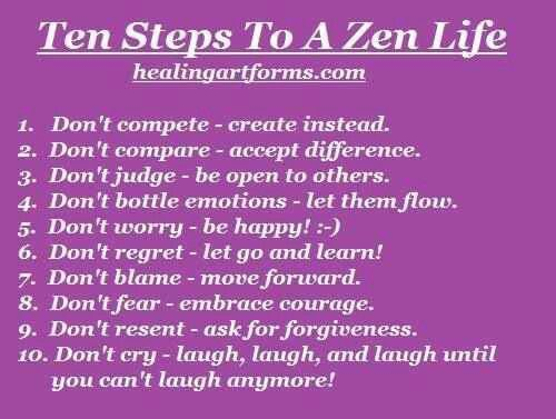 zen quotes about life - photo #13