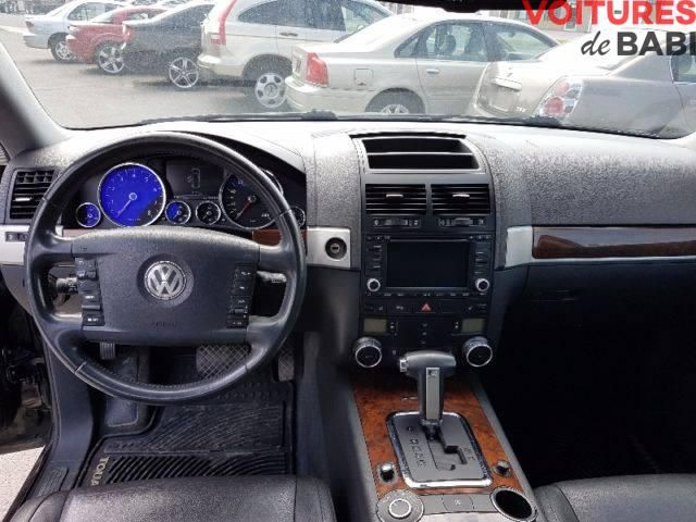 Volkswagen Touareg 2007 (4X4) - Toit ouvrant/GPS Cuir / Essence / Automatique / 198 500 km 6 Cylindres / Jantes aluminium / Climatisation / Toute équipée