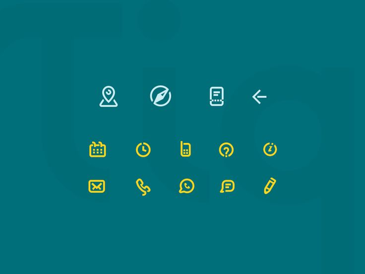 Tiqets Icons by Leon Ephraim #Design Popular #Dribbble #shots