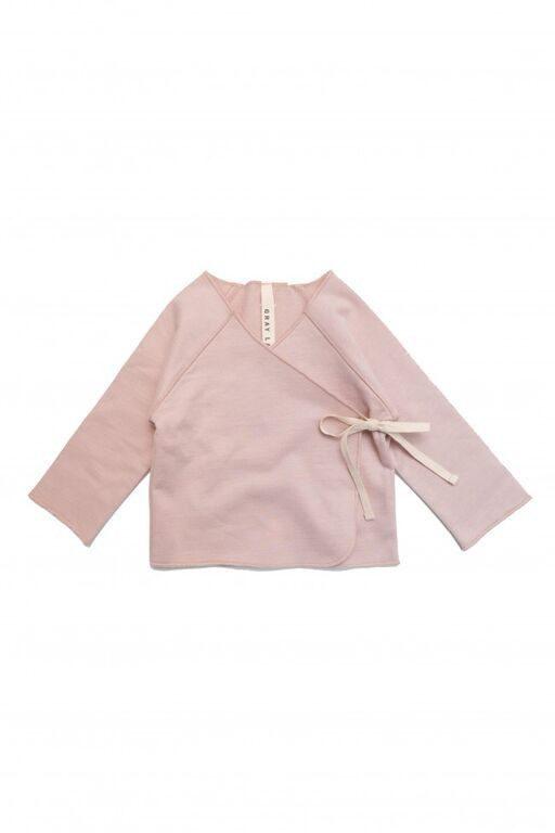 GRAY LABEL UNISEX CROSSOVER TOP – VINTAGE PINK