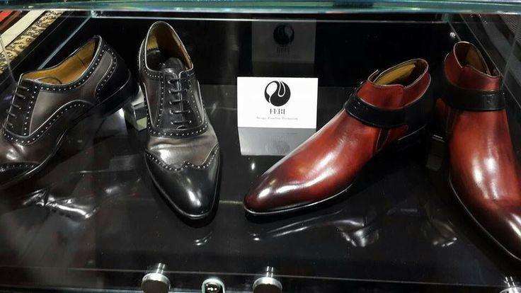 Men were not forgotten, as promised. FERI Shoes for Men