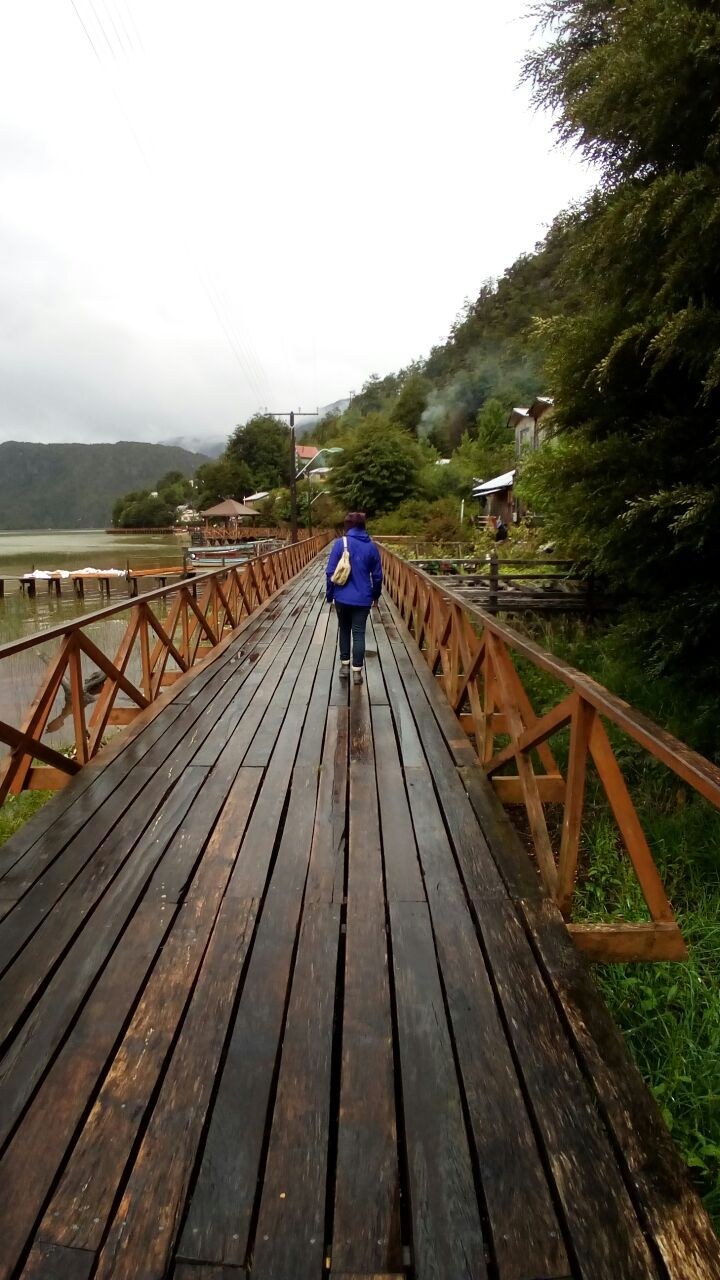 El pueblo de las pasarelas - Caleta Tortel XI Region de Aysen