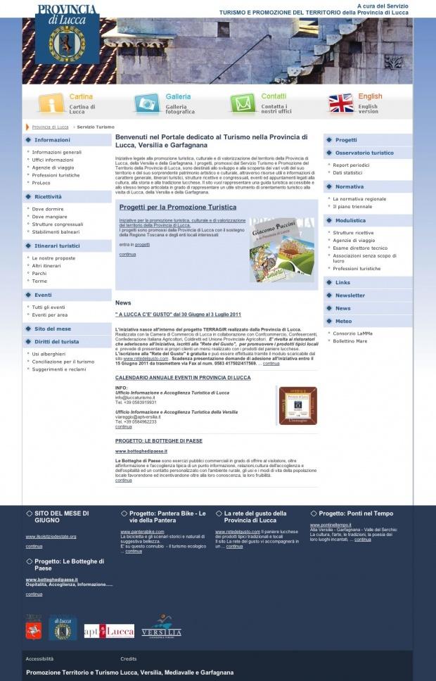 #Directo #usabilità #accessibilità #website  Provincia di Lucca requisiti tecnici previsti per gli Enti Locali dalla Legge 9 gennaio 2004 n. 4 e dal D.M. 8 luglio 2005. (Legge Stanca).   Ottenimento del riconoscimento di controllo CNIPA e della certificazione internazionale del World Wide Web Consortium (W3C).