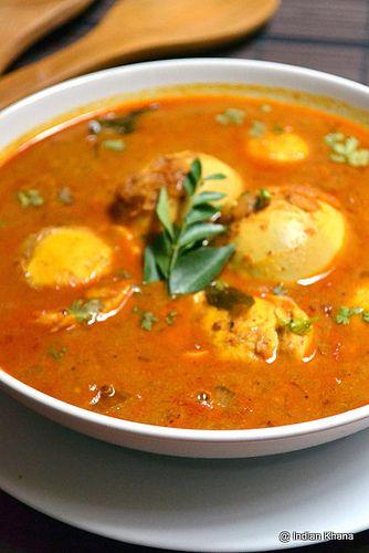 Easy Egg Kurma Curry Recipe by Priti_S, via Flickr