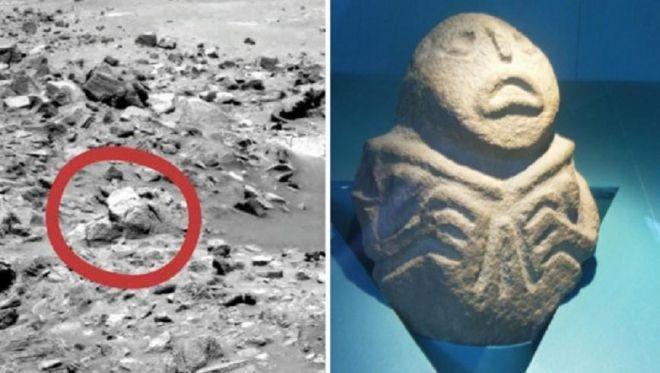 Србија до Марс: Статуета од Лепенски Вир пронајдена и на Црвената планета | Вечер