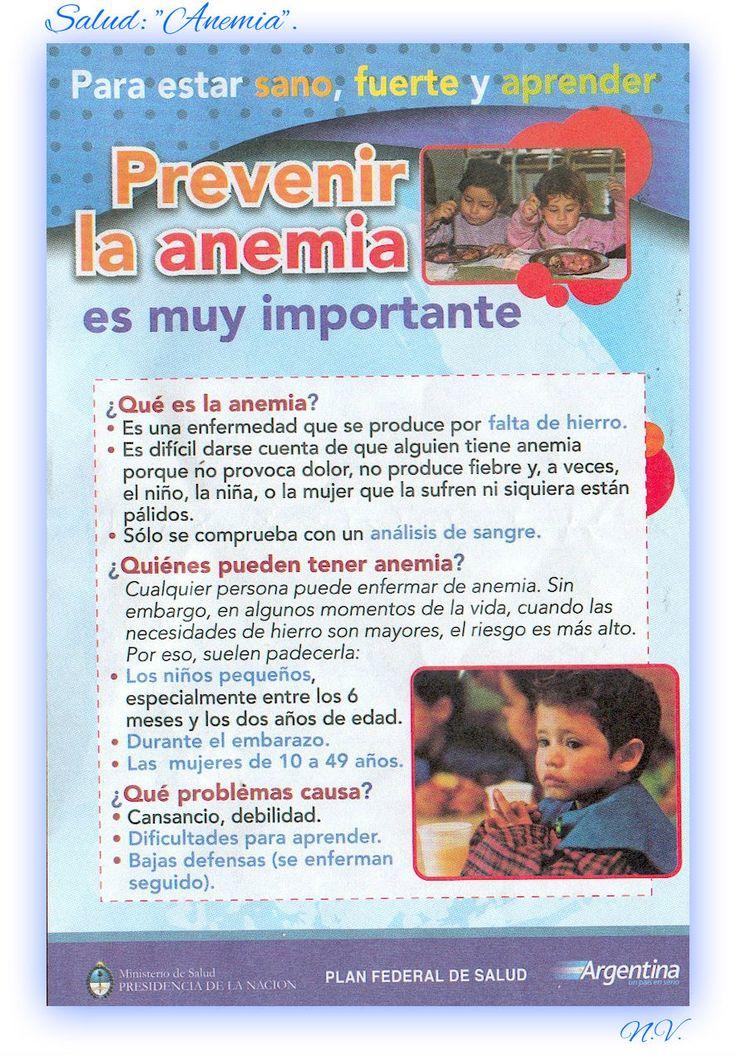 """Nutrición Infantil: """"Prevención de la Anemia""""."""