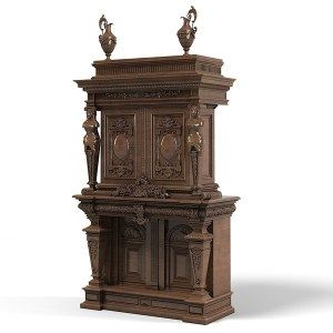Baroque wardrobe armoire tv media cabinet big antique carved victorian furniture_1 .jpg8fc97acc-e019-4da4-9012-c0fae4b24161Large