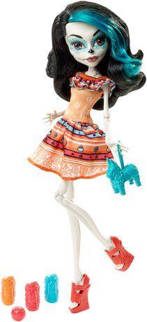 Monster High Skelita Calaveras Doll - Scarnival