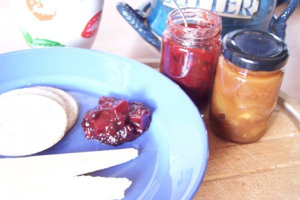 Beetroot & Elderberry Chutney - a tasty Autumn treat