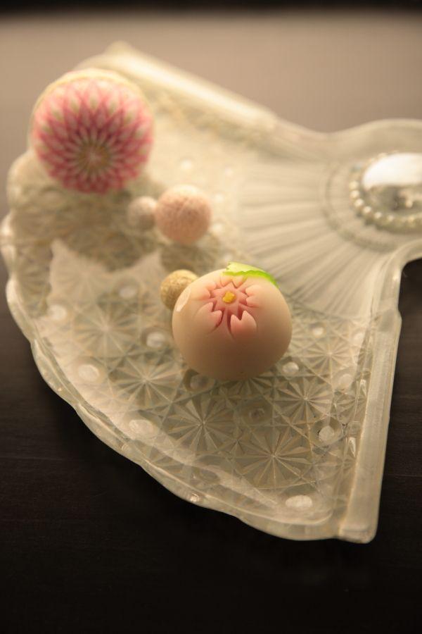 cherry blossom wagashi