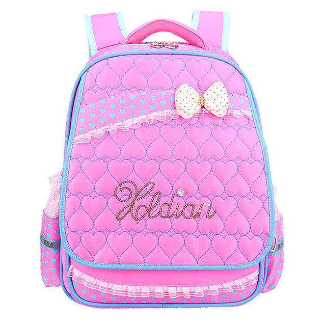 2016 Lovely children's backpack Super light waterproof Pupils bag High Quality Girls kids School Bags Children Backpacks