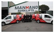 Forklifts for sale, http://www.manhand.co.za/#