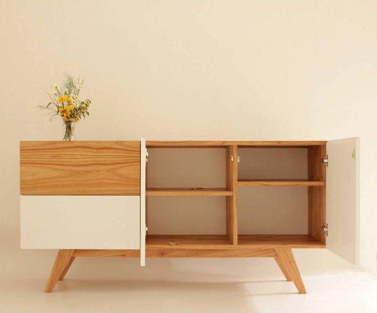 comoda diseño escandinavo madera paraiso