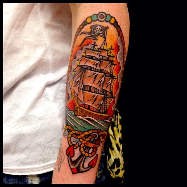 Tattoo Ideas Classic Ships Piercing Ideas Tattoo: 25+ Best Ideas About Pirate Ship Tattoos On Pinterest