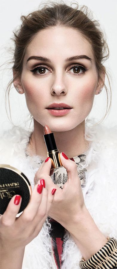 Classic makeup: Olivia Palermo for Ciaté London