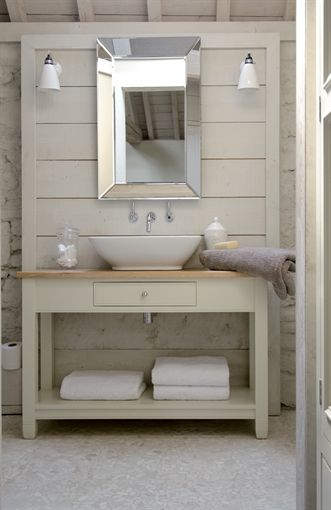 Neptune Chichester Countertop Washstand, 1220mm