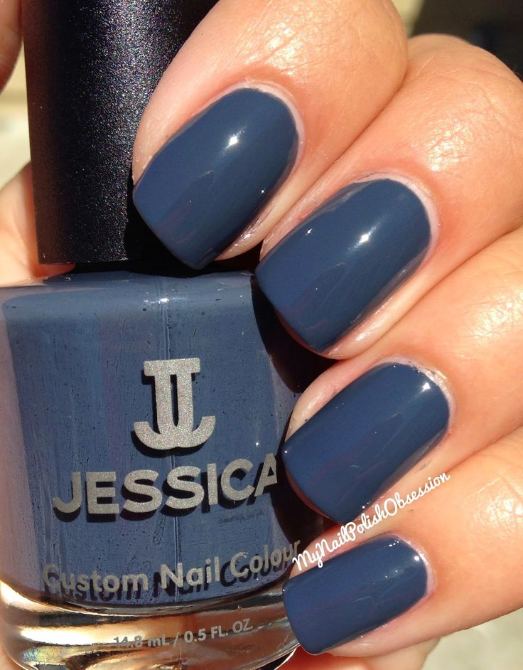 My Nail Polish Obsession: Jessica Cosmetics Autumn In New York & The Brittle Nails Treatment Kit