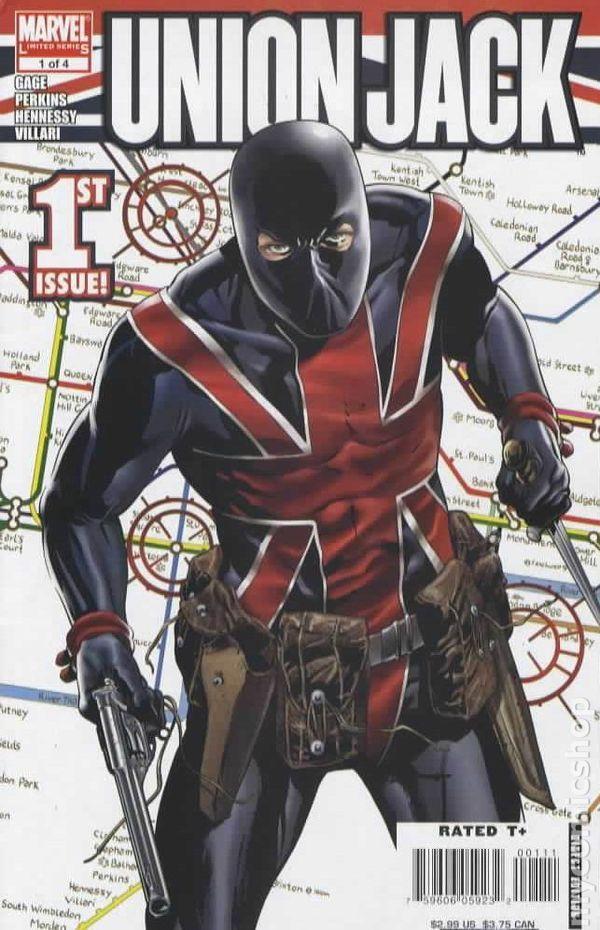 union jack marvel comics   Union Jack (2006 2nd Marvel Series) comic books
