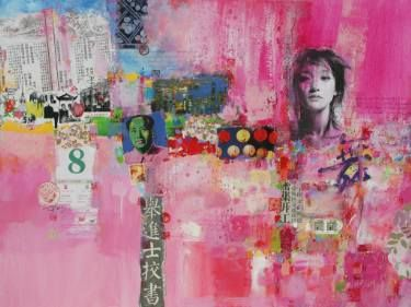 "Saatchi Art Artist Xiaoyang Galas; Collage, ""Good news"" #art"