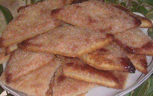Простое в приготовление и очень вкусное хрустящее печенье