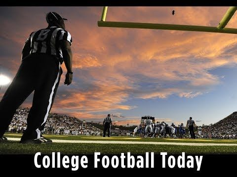 College Football Today: Welcome To The 2017-18 Season!