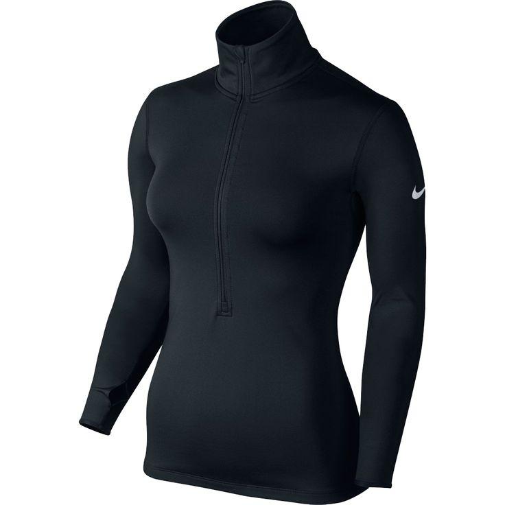 Nike Dame Pro Hyperwarm 1/2 Zip 3.0