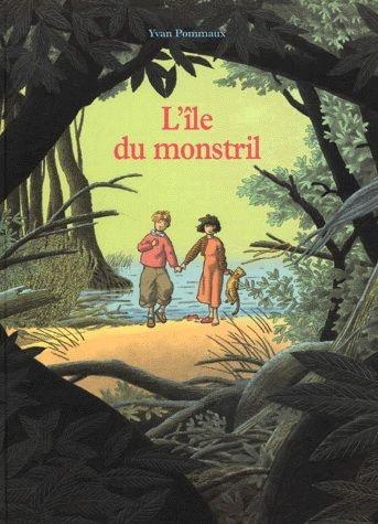 L'Ile du Monstril - Yvan Pommaux adventure book - 4 years