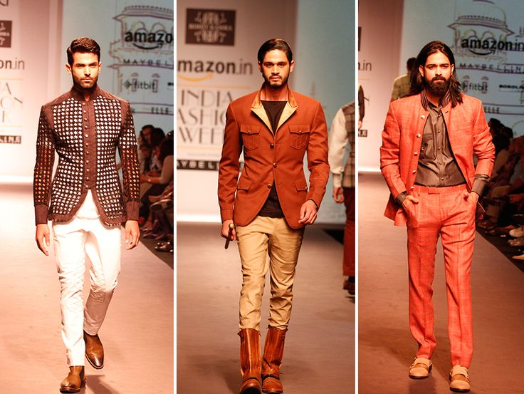 Rohit Kamra presents a collection for the modern maharaja. #AIFW #Fashion #Menswear
