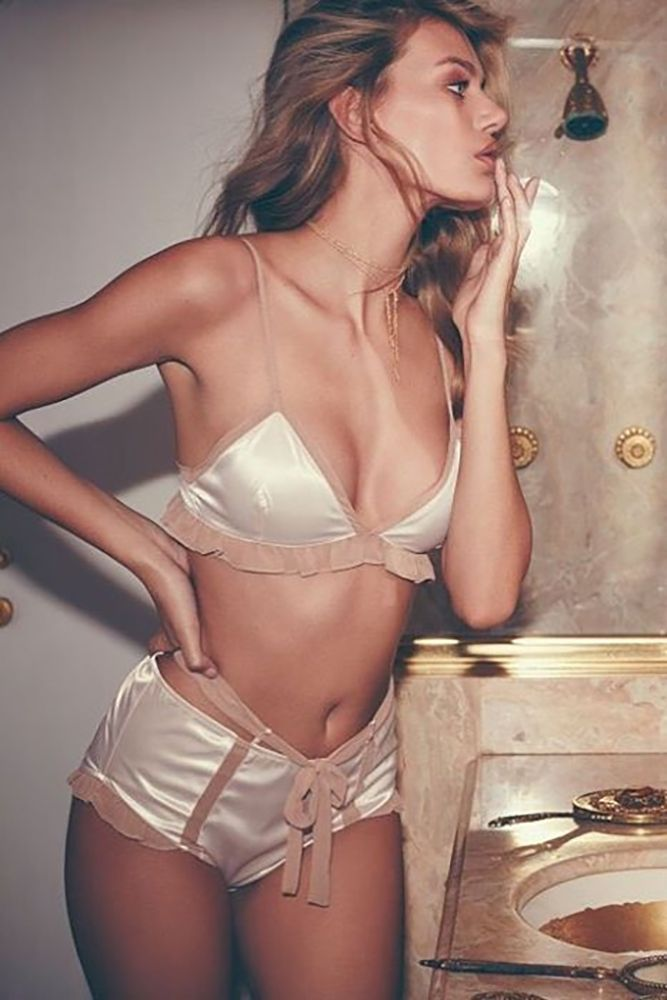 30 Tempting Wedding Night Lingerie ❤️ See more: http://www.weddingforward.com/wedding-night-lingerie/ #wedding #lingerie