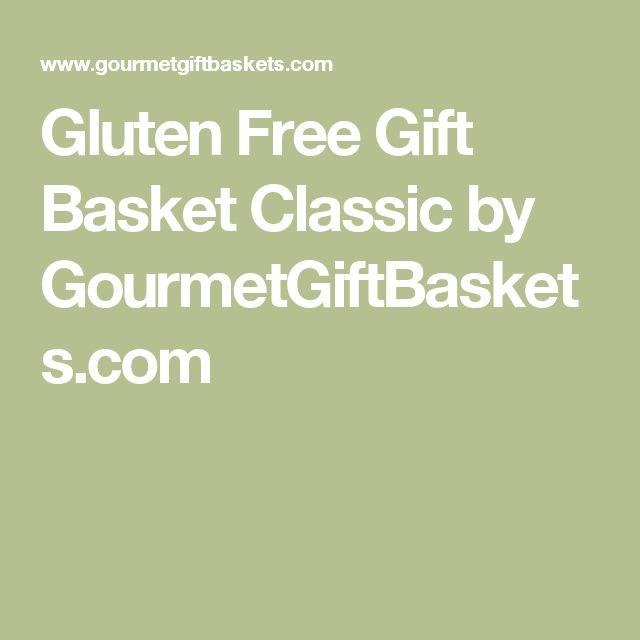 Die besten 25 gluten free gift baskets ideen auf pinterest gluten free gift basket classic by gourmetgiftbaskets negle Gallery