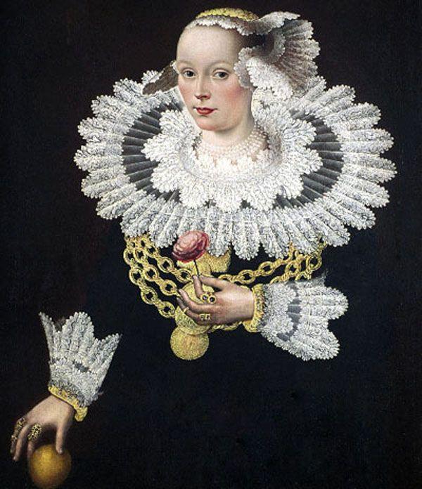 Michael Conrad Hirt, Portrait of Anna Rosina Marquart, née Tanck, wife of the mayor of Lübeck, 1642