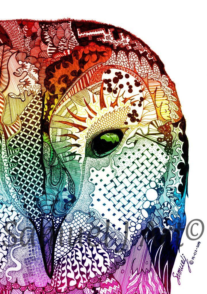 'Ancient Eye' - Rainbow