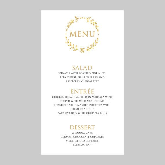 Πάνω από 25 κορυφαίες ιδέες για Menu card template στο Pinterest - sample wine menu template