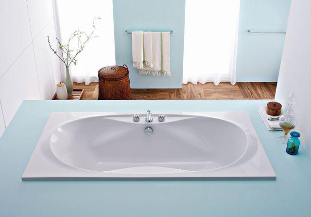 1000 id es sur le th me baignoire rectangulaire sur. Black Bedroom Furniture Sets. Home Design Ideas