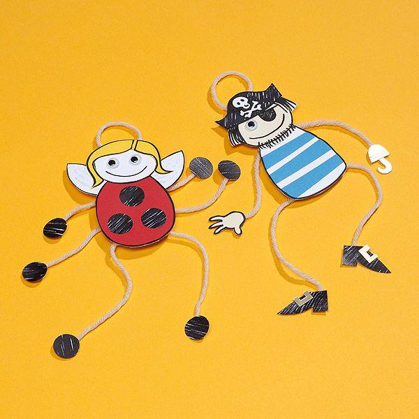 Dangly Door Hanger Figures | Craft Ideas & Inspirational Projects | Hobbycraft